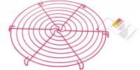 Kuchengitter, pink Ø32 cm