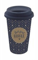 "Coffee Mania Becher m. Deckel in GB ""Coffee"", 350 ml"
