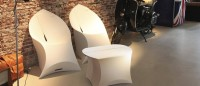 Flux Chair – der faltbare Stuhl antharazit