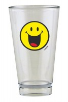 Smiley Glas, Emoticon happy 30 cl