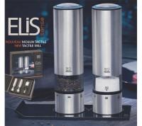 1x Elektrische Salz- und Pfeffermühlen ELIS mit Sensor-Automatik