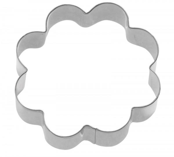 "3 Stk. Terrassen-Ausstechformen ""Rosette"", 4/5/6 cm"