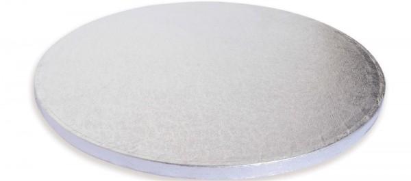 Untersetzer für Kuchen 1 Stk. silber 1 cm dick/30.4 cm