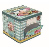 Bonbons, Aufbewahrungsdose mit Klappe, 14.6x14.6x13.2 cm
