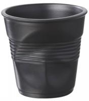 Espresso Knitterbecher 8 cl, schwarz