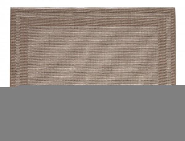 """Tischset """"Rahmen"""", eckig, braun/bronze, 32x42 cm"""