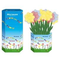 """Display 100 Stk. Fliegenklatsche """"Blume"""", 48.5x13.5x0.5 cm"""