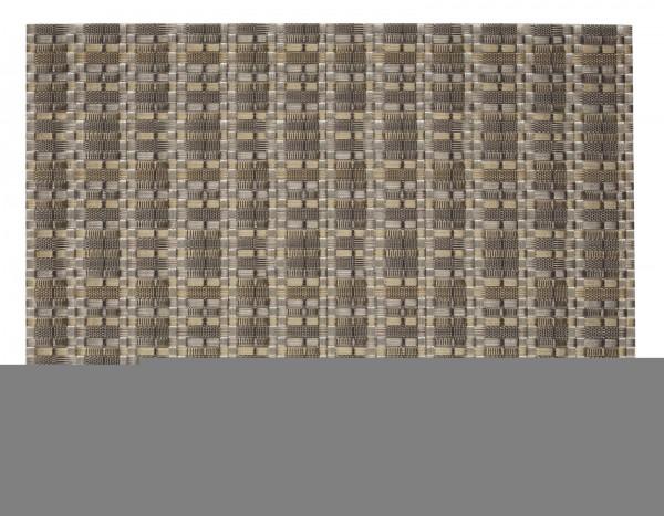 """Tischset """"Edel"""", eckig, gold/silber, 32x42 cm"""