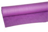 Papier-Tischdecke violett, gewaffelt, 1.18x20 m