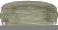 Stonecast Patina grün Platte rechteckig 29.8x15.3cm