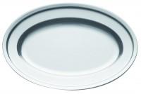 Ovale Fleischplatte 32x22cm