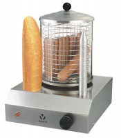 Hot Dog Maschine mit 2 Brothaltern