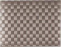 PP-Tischset gewebt, eckig, taupe, 30x40 cm