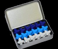 Craggles Geschenkbox - weiss & ice & blau