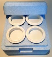 Isolierbox für 4 Pacossier-Becher