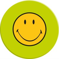 Smiley Klassik Salatteller grün 20 cm