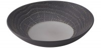 Suppenteller rund, H: 5.7 cm, Ø 24.2 cm, Pfeffer