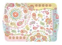 Gipsy Tablett m. Griffen, 33x22 cm