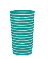 Swirl Becher 36cl, aqua blau