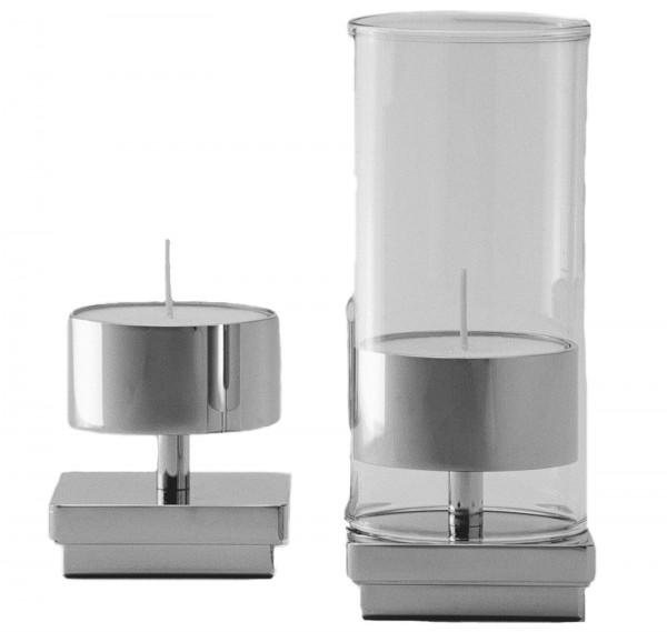 Glas zu Kerzenhalter Quadrato 119.001.060, H: 14.5cm