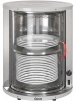 Tellerwärmer für 30-40 Teller, Masse Innen D:33cm H:44cm