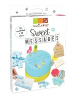 Sweet Messages Stempel-Set, 12 Motive + 20 Wörter