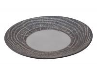 Speiseteller rund, H: 3.4 cm, Ø 28.3 cm, Pfeffer