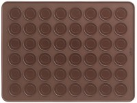 Macaron Matte braun, 40x30 cm