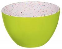 Schüssel grün/sprinkles 10 cm