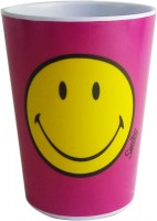 Smiley klassik Becher, fuchsia