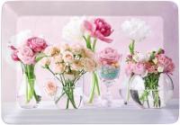 Flowers at Home Tablett 31x23 cm