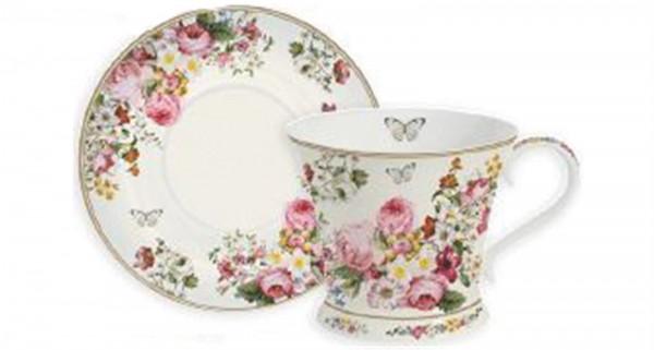 Blooming opulence Tee-Obertasse m. Untertasse, 180 ml