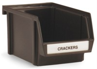 Besteckbox braun 20.3x12.7cm h:10.8cm