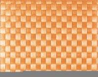 PP-Tischset gewebt, eckig, orange, 30x40 cm