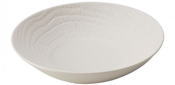 Suppenteller rund, H: 5.7 cm, Ø 24.2 cm, Elfenbein
