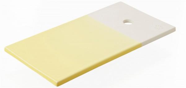 Color Lab Tablett rechteckig, 24.5x13x0.8 cm, zitrus