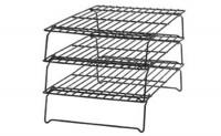 Auskühlgitter 3-stufig, stapelbar, 40x25 cm