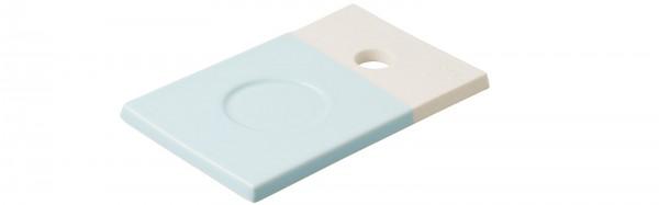 Color Lab Tablett rechteckig, 14x9x0.8 cm, blau