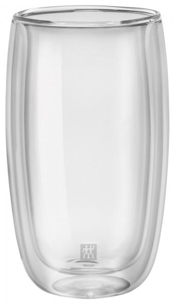 Sorrento Latte Macchiato Gläser doppelwand., 2er Set, 350 ml