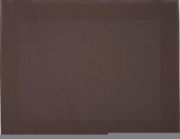"""Tischset """"Rahmen"""", eckig, kastanienbraun, 32x42 cm"""