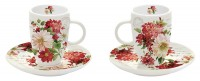 Season Flowers Espressotassen 2er Set 50 ml in GB