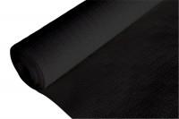 Papier-Tischdecke schwarz, gewaffelt, 1.18x20 m