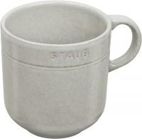 Keramik Mug, weiss truffle, 12 cm