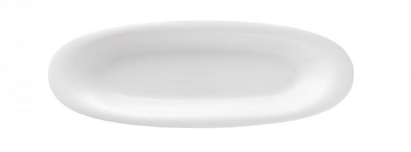 Fluen Tableau oval L: 28.5cm weiss