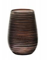 Twister meets Elements Longdrinkbecher 465ml, Schwarz-Bronze
