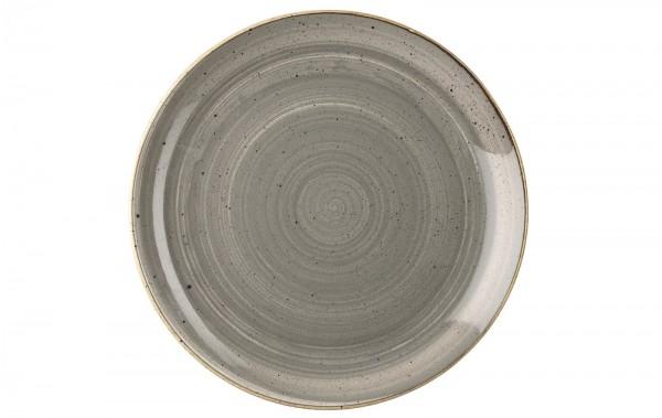 Stonecast Grau Teller coupe flach 21.7cm