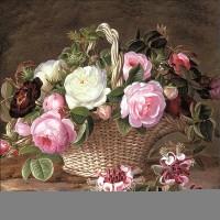 Old England Roses Servietten 33x33 cm