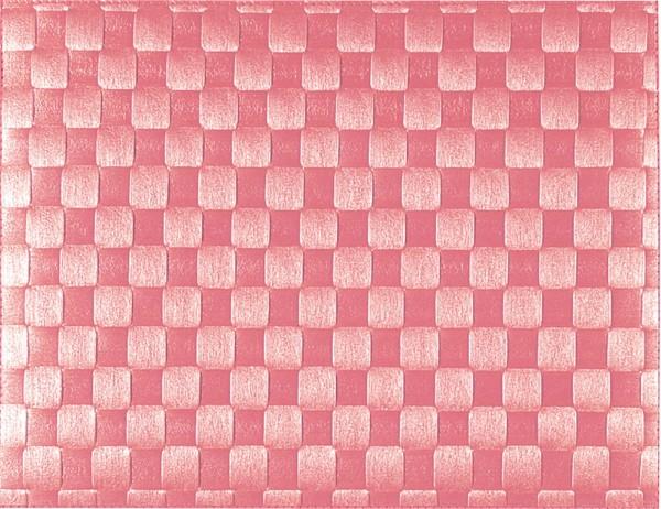 PP-Tischset gewebt, eckig, altrosa, 30x40 cm