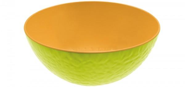 Duo Schüssel Melone kiwi/orange 20 cm