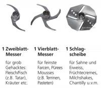 Coupe Set 4tlg mit Bedienungsanweisung deutsch